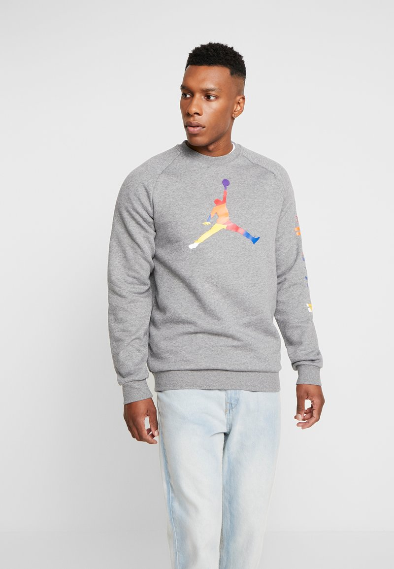 Jordan - CREW - Sweatshirt - carbon heather