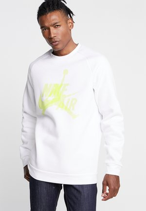 JUMPMAN CLASSICS CREW - Collegepaita - white/luminous green