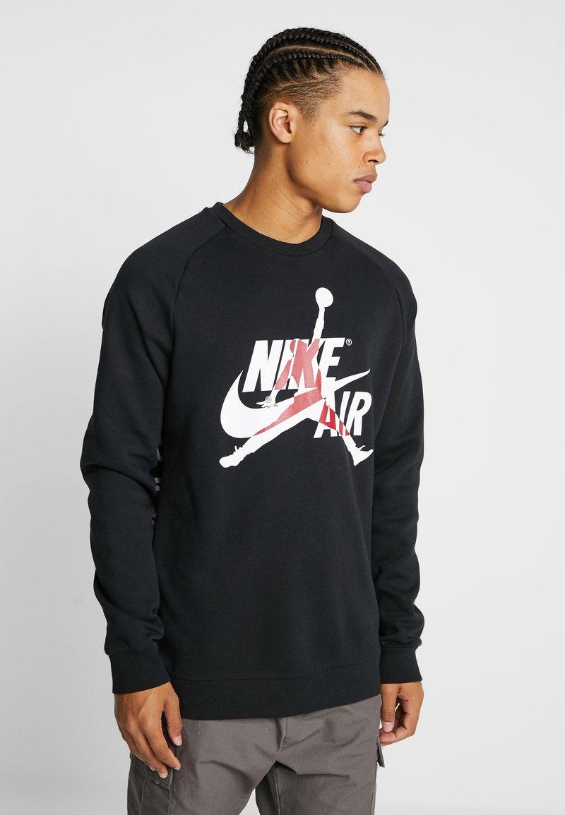 Jordan - JUMPMAN CLASSICS CREW - Sweatshirts - black/white
