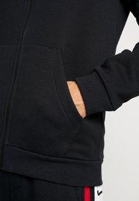 Jordan - AIR GRADIENT - veste en sweat zippée - black/white/gym red - 3