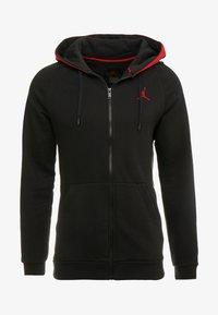 Jordan - AIR GRADIENT - veste en sweat zippée - black/white/gym red - 4
