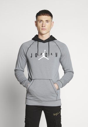 SPRTDNA HOODIE - Bluza z kapturem - smoke grey/black