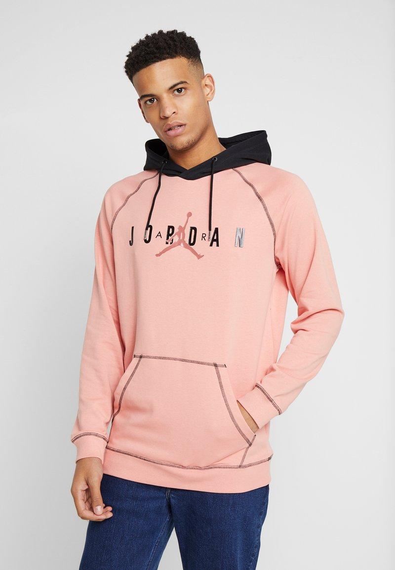 Jordan - SPRTDNA HOODIE - Hoodie - pink quartz/black