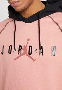 Jordan - SPRTDNA HOODIE - Hoodie - pink quartz/black - 6