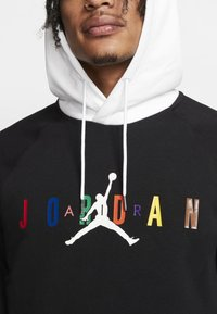 Jordan - SPRTDNA HOODIE - Luvtröja - black/white - 4