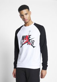 Jordan - JUMPMAN CREW - Sweatshirt - white/black - 0