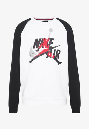 JUMPMAN CREW - Sweatshirt - white/black