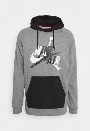 JUMPMAN - Bluza z kapturem - carbon heather