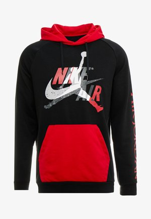 JUMPMAN - Felpa con cappuccio - black/black/gym red