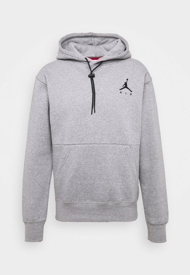 JUMPMAN AIR - Jersey con capucha - carbon heather/(black)