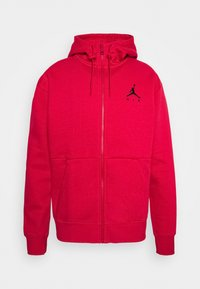 Jordan - JUMPMAN AIR - Sudadera con cremallera - gym red/black - 0