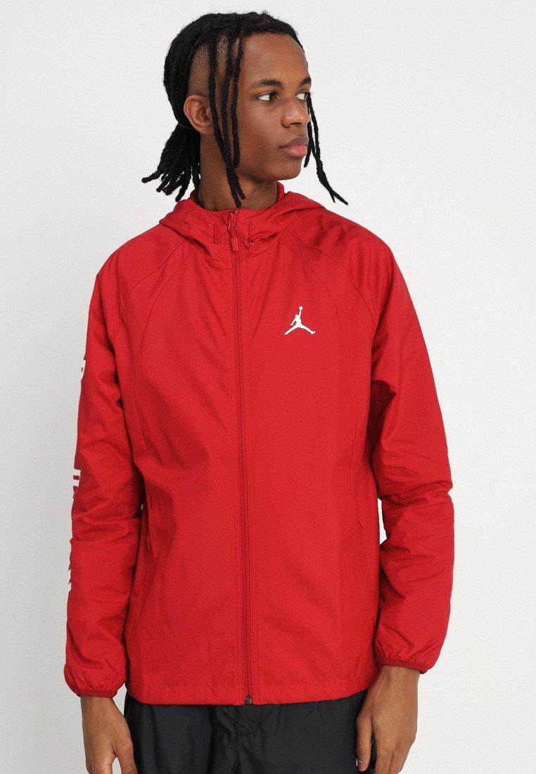 Jordan - WINGS - Summer jacket - gym red/white