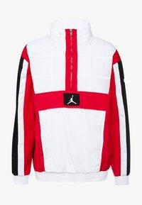 Jordan - WINGS WINDWEAR JACKET - Windbreaker - white/gym red/black/ - 4