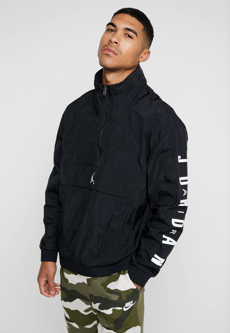 Jordan - WINGS WINDWEAR JACKET - Windbreakers - black/white