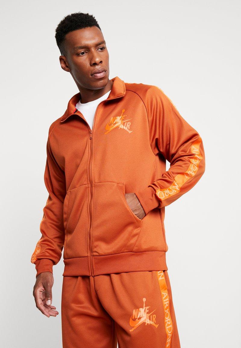 Jordan - TRICOT WARMUP  - Training jacket - dark russet
