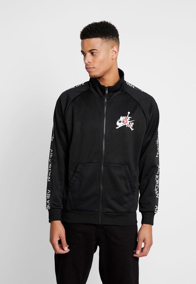 Jordan - TRICOT WARMUP  - Sportovní bunda - black