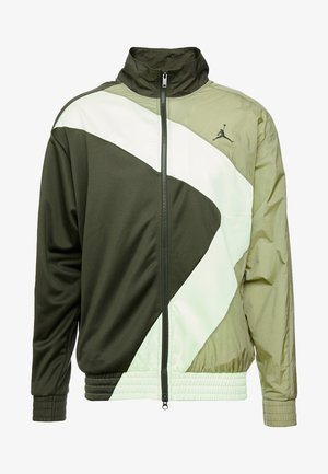 WINGS DIAMOND - Sportovní bunda - sequoia/thermal green/sequoia