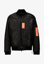 Giubbotto Bomber - black/infrared