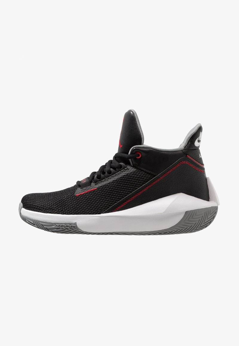 Jordan - 2X3 - Basketbalschoenen - black/gym red/particle grey