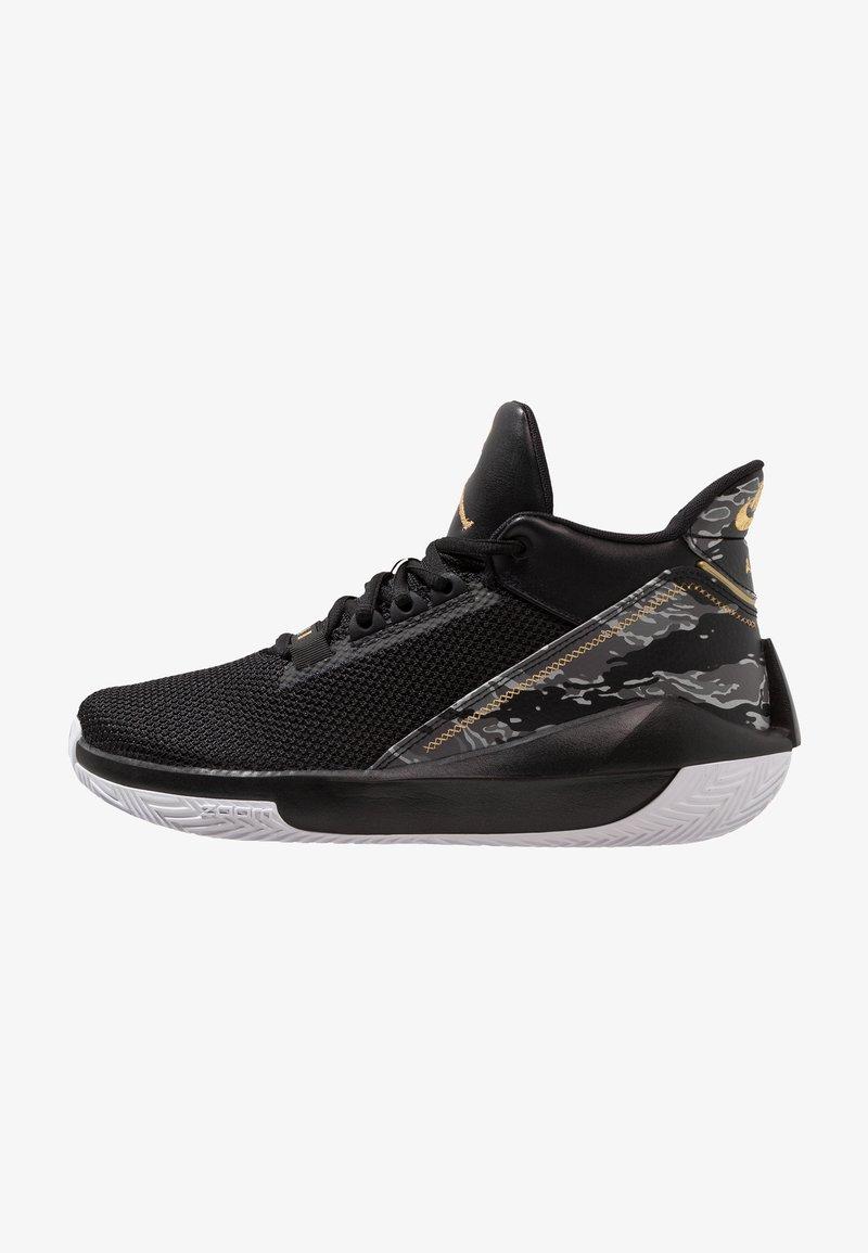 Jordan - 2X3 - Basketbalschoenen - black/metallic gold/white