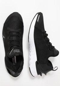 Jordan - REACT ASSASSIN - Basketbalové boty - black/metallic silver/white - 1