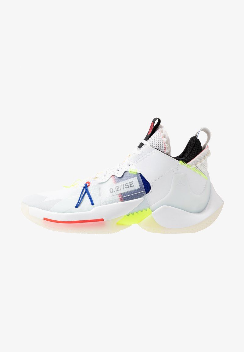 Jordan - WHY NOT 0.2 SE - Basketballschuh - white/ghost aqua/hyper royal/volt/sail