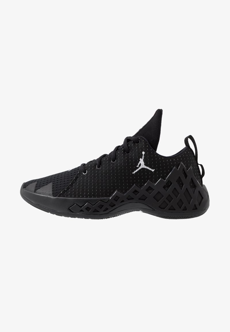 Jordan - JUMPMAN DIAMOND LOW - Basketball shoes - black/white