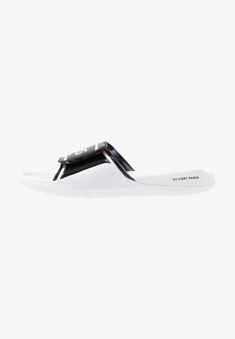 Jordan - HYDRO 7 - Badesandaler - black/white/black/infrared