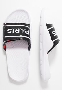Jordan - HYDRO 7 - Badesandaler - black/white/black/infrared - 1