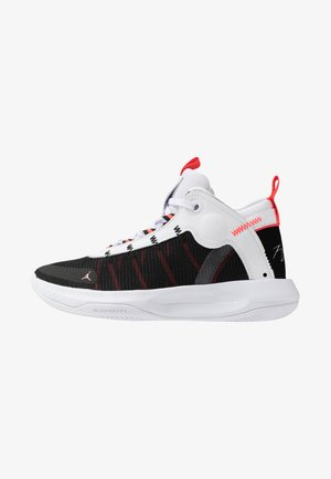 JUMPMAN 2020 - Basketbalové boty - white/metallic silver/black/infrared