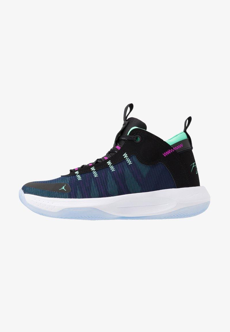Jordan - JUMPMAN 2020 - Indoorskor - black/electric green/hyper violet/bright crimson