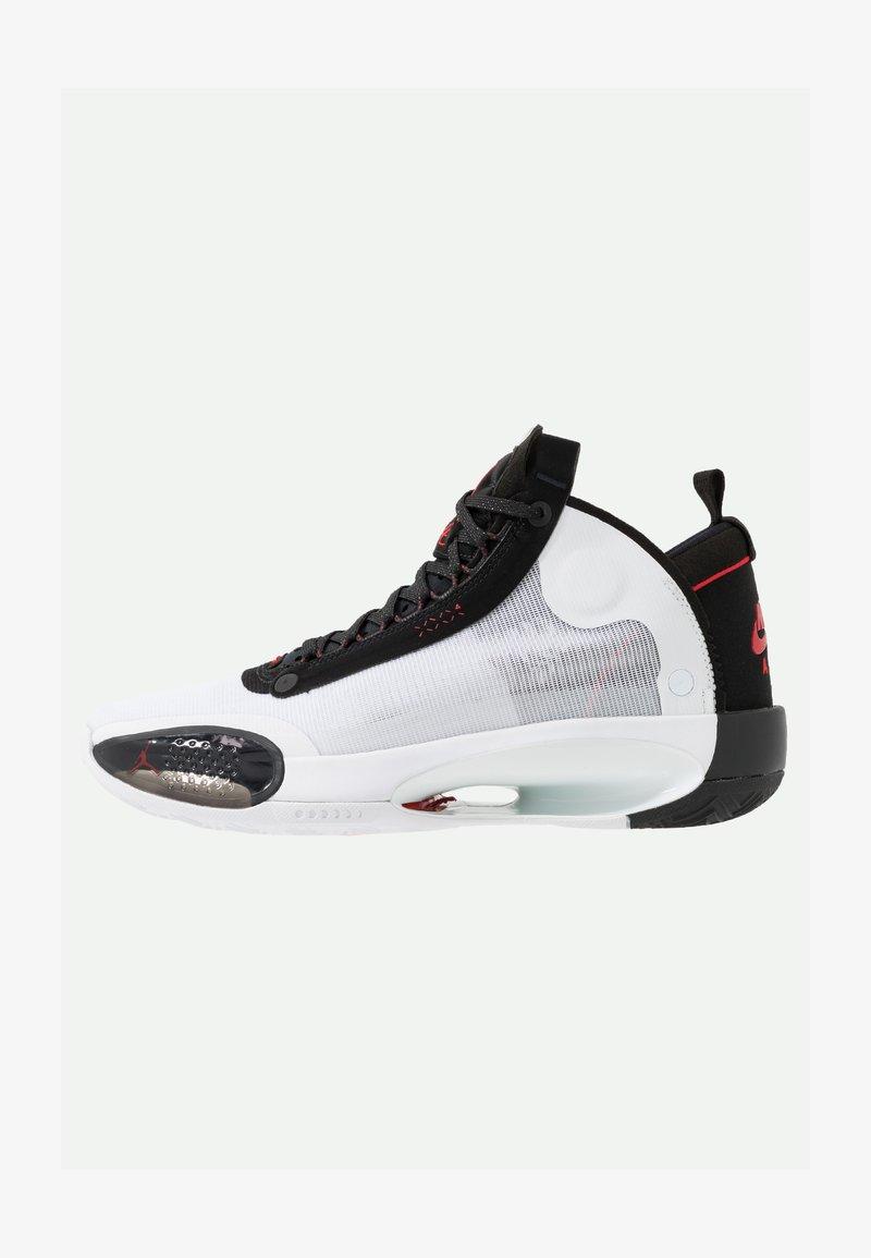 Jordan - AIR XXXIV - Koripallokengät - white/red orbit/black