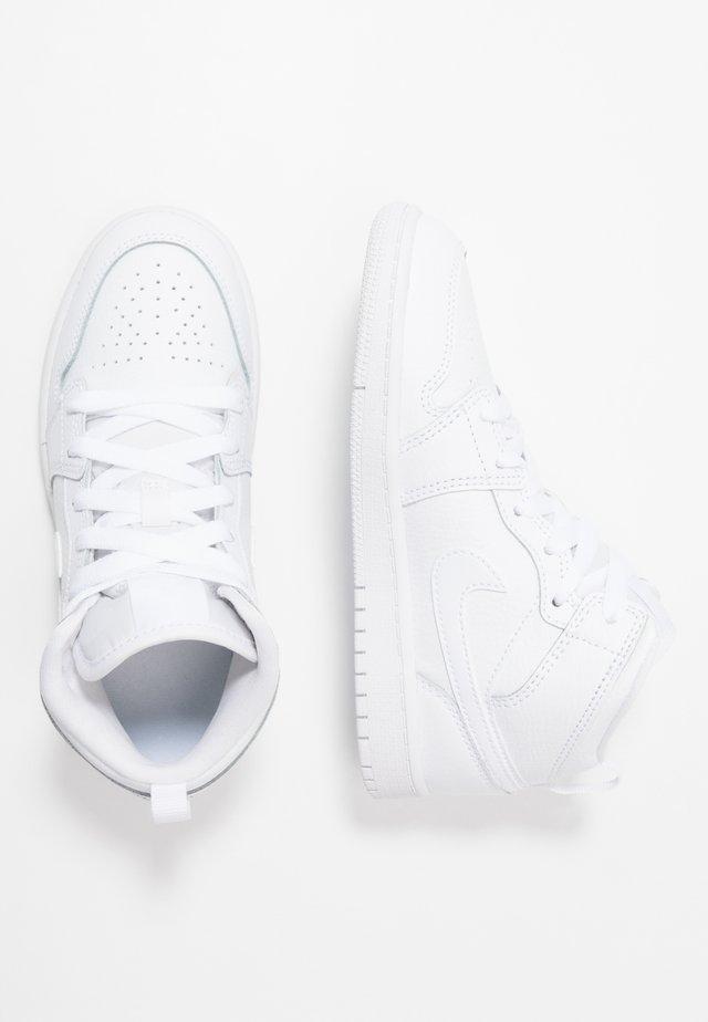 JORDAN 1 MID SCHUH FUR JUNGERE KINDER - Sneakers - white