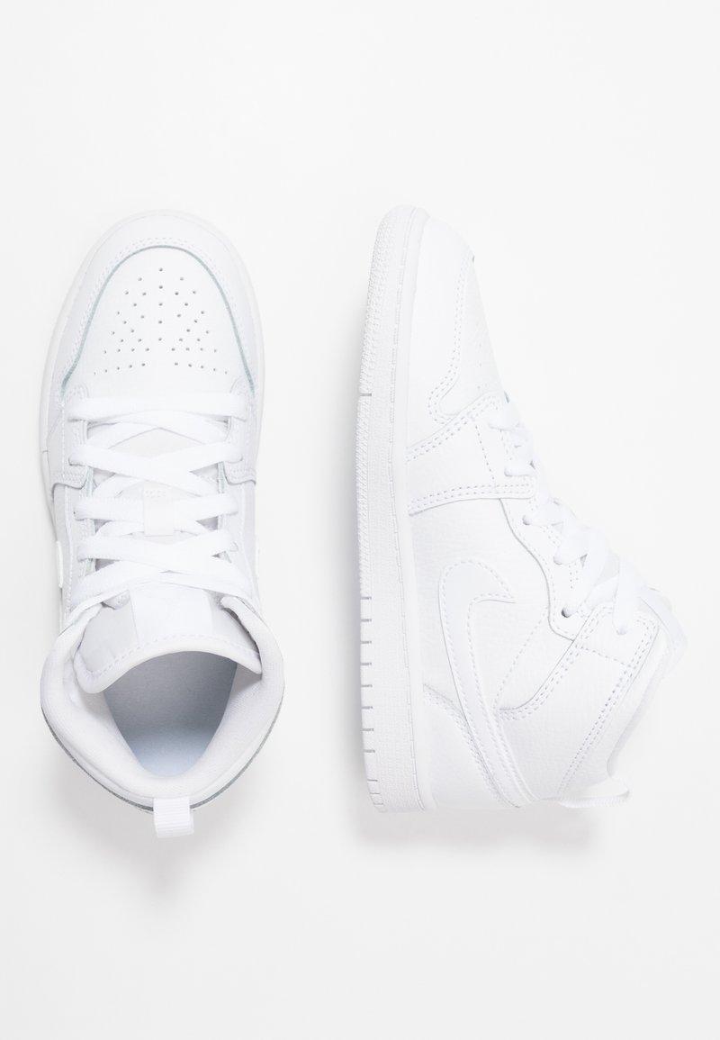 Jordan - 1 MID - Basketbalové boty - white