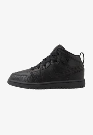 1 MID - Basketball shoes - black
