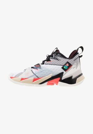 WHY NOT ZER0.3 - Chaussures de basket - white/university red/black