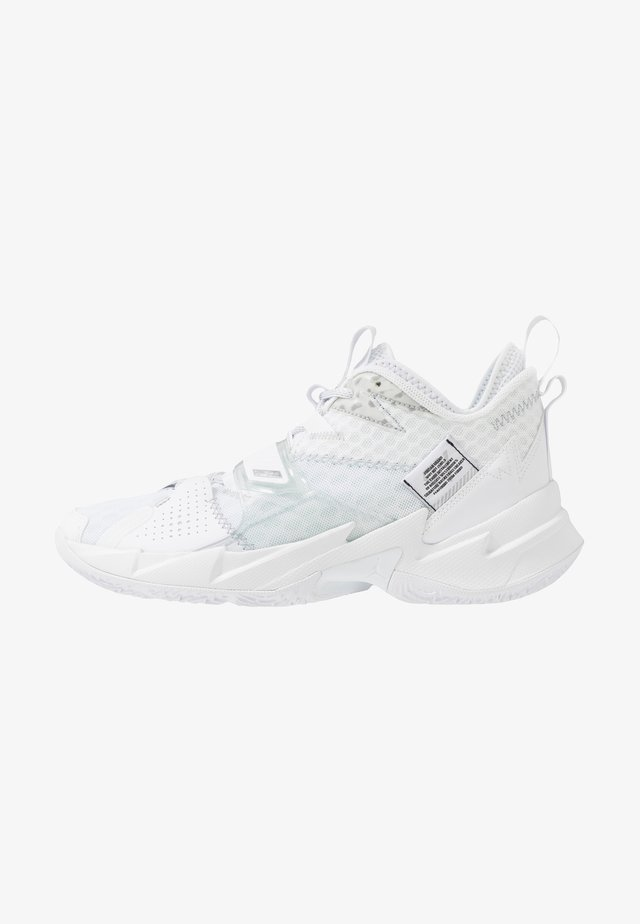WHY NOT ZER0.3 - Basketballschuh - white/white/metallic silver/black
