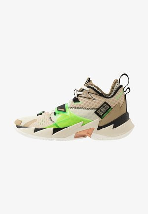 WHY NOT ZER0.3 - Basketball shoes - parachute beige/rage green/fossil/black