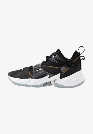 WHY NOT ZER0.3 - Basketball shoes - black/metallic gold/white