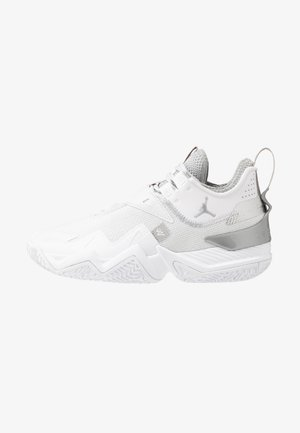 WESTBROOK ONE TAKE - Koripallokengät - white/metallic silver