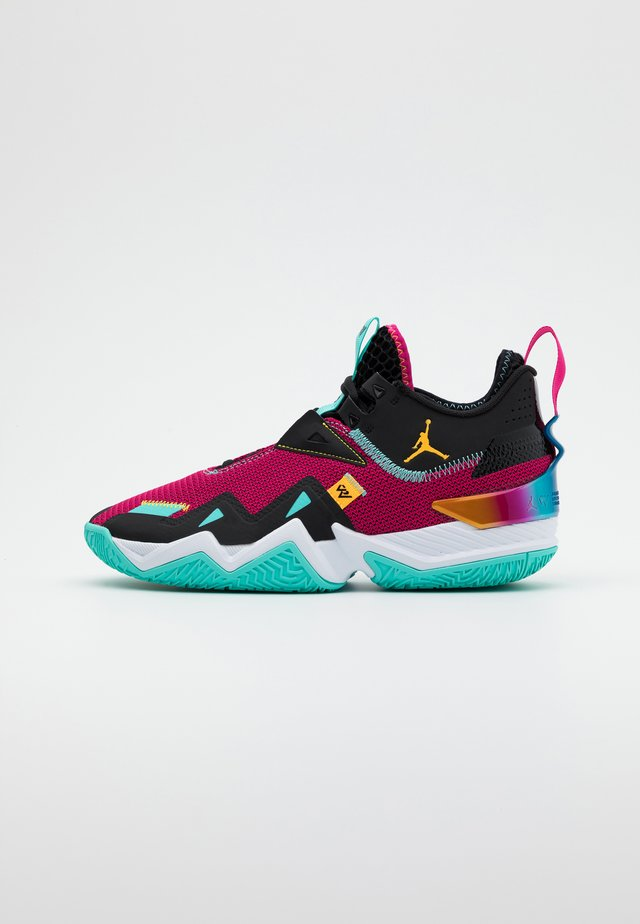 WESTBROOK ONE TAKE - Scarpe da basket - vivid pink/laser orange/black/dynamic turquoise