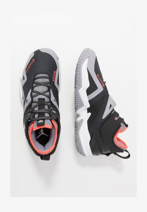 WESTBROOK ONE TAKE - Basketballschuh - black/white/cement grey/bright crimson