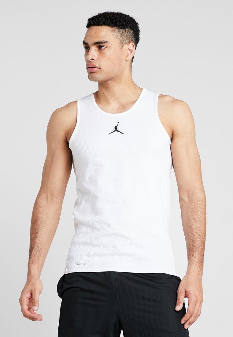 Jordan - RISE DRI-FIT TANK - Funktionsshirt - white/black