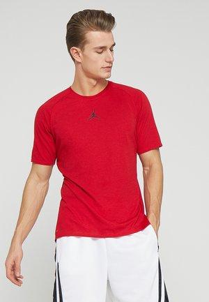 ALPHA DRY - T-shirt print - gym red/black