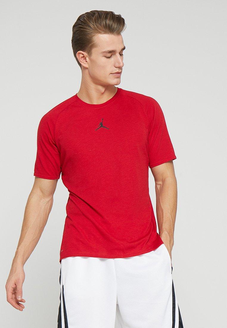 Jordan - ALPHA DRY - T-Shirt print - gym red/black