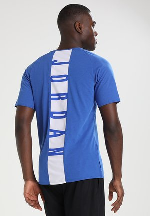 ALPHA DRY - T-shirts med print - game royal/white