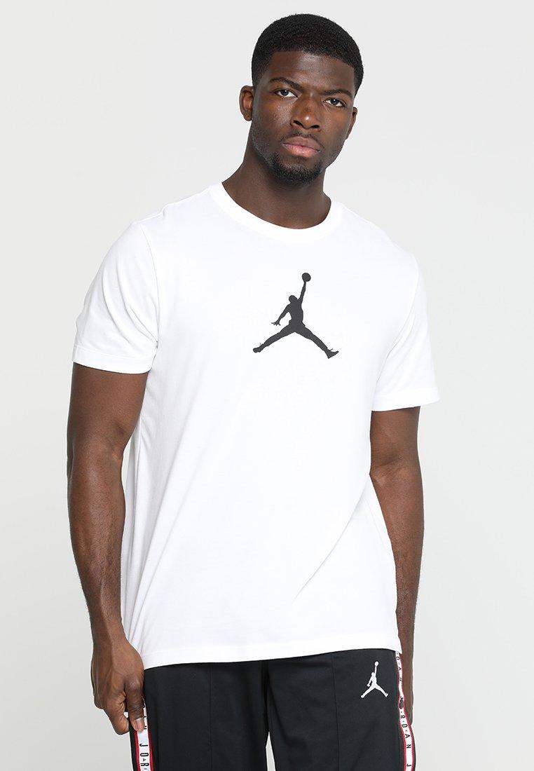 Jordan - ICON TEE - T-shirts print - white/black