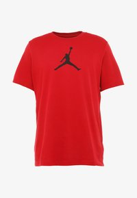 Jordan - ICON TEE - T-shirt z nadrukiem - gym red/black - 4