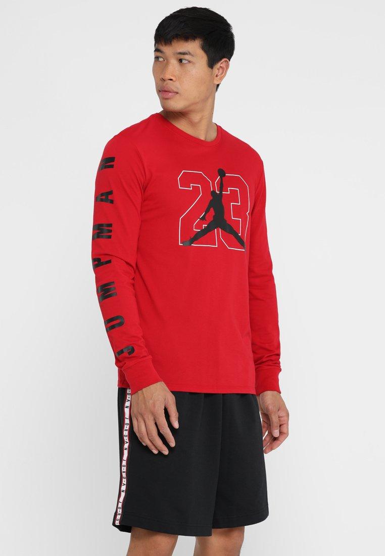 Jordan - TEE  - Funktionsshirt - gym red/black