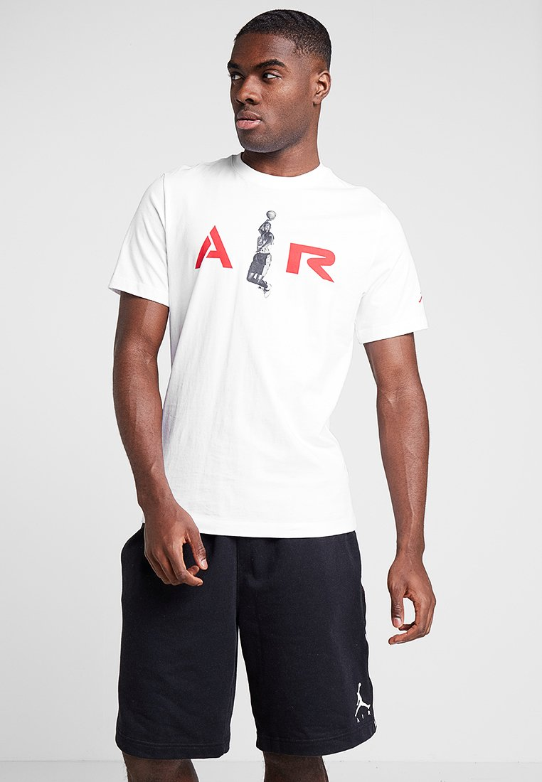 Jordan - TEE AIR  - T-Shirt print - white